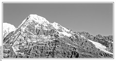 Hiunchuli (6441m) (L'Abominable Homme de Rires) Tags: annapurna npal trek atalante montagne landscape montain mardihimal hiunchuli  mardihimalbasecamp huwans clubaventure trekdumardihimal himalaya mardihimaltrek travel trekking mountain fishtail acap