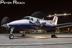 ZK459 / Royal Air Force / King Air T1 (B200GT) (Peter Reoch Photography) Tags: royal air force raf royalairforce beechcraft king t1 b200 b200gt propeller aircraft military aviation flying northolt 45 45r sqn squadron special centenary markings night