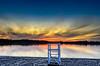 Lifeguard Stand.jpg (Chatterstone Photography) Tags: rileylake lake sunset lifeguardtower minnesota lifeguard beach tower water
