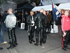 Folsom Berlin 2009 - 4046 (blacknshiny) Tags: leatherman folsom leatherjeans fullleather leather bluf