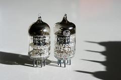 Marconi EF95 (Sean Anderson Classic Photography) Tags: marconief95 marconiphonecoltd ef95 tubes valves pentode industar61lz m42 50mmf28 sony dslr sonya700 vhftube 6ak5 sharpcutoffpentode