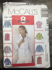 3541 (mrogers1@uw.edu) Tags: unchecked mccalls blouse 2000s 2002 2010s