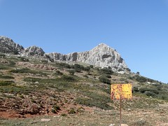 Pedro's death (2) (drager meurtant) Tags: landscape dragermeurtant extremadura sign spain mountains emptiness