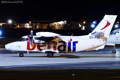 Benair, L-410 UVP-E20 Turbolet, OY-PBI (M. Leith Photography) Tags: l410 uvpe20 turbolet benair aberdeen airport night markleithphotography nikon d7000 70200vrii aberdeenairport aberdeendyce aviation