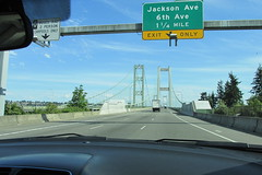 Tacoma Narrows Bridge (Stabbur's Master) Tags: bridge famousbridges suspensionbridge twinsuspensionbridges tacomanarrowsbridge tacomanarrowsstrait washingtonstate washington