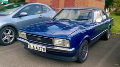 Theale, Berkshire - England (Mic V.) Tags: car voiture tla437r 1977 ford cortina l taunus mark iv saloon sedan berline youngtimer
