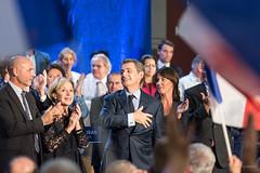20161005_DSC4783 (patrickbatard) Tags: lr campagne drapeaux meeting montauban primaire rpublicains sarkozy toutpourlafrance