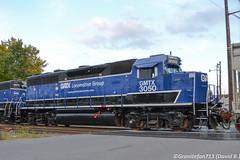 GMTX 3050 EMD GP40-3 (14R) (Trucks, Buses, & Trains by granitefan713) Tags: train freighttrain locomotive leaser leasingcompany gatx gmtx emd electromotive emdgp40 gp40 motherslug motherslugset yardpower localpower 4axle newpaint rebuild emdgp403 gp403 railfan railroad sunburyline nssunburyline