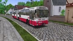 OMSI 2: Mercedes-Benz O 305 G (Bahnbus-mod) CP / MTB (for map Alto da Boa Viagem) - Photo 4 of 4 (O530 Carris PT) Tags: omsi2 mercedesbenz o305g cp caminhos de ferro portugueses mtb boa viagem