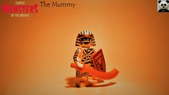 The Mummy (2/10) (Random_Panda) Tags: lego figs fig figures figure minifigs minifig minifigures minifigure purist purists character characters horror halloween the mummy