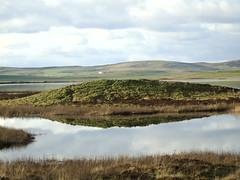 Harray loch (stuartcroy) Tags: orkney island harrayloch harray scotland scenery sky sea sony still water weather reflection