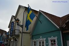 Swedish district - EuropaPark (khalid.lebdioui) Tags: sweden skandinavien nikon d5200 deutschland europapark blue white colors halloween flickr