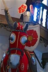 Castle Kitsch (smilla4) Tags: horse knightinshiningarmor kitsch czechrepublic rozmberkcastle rozmberknadvltavou