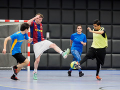 PA211108.jpg (Bart Notermans) Tags: coolblue bartnotermans collegas competitie feyenoord olympus rotterdam soccer sport zaalvoetbal