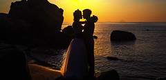 Sam and Trung Wedding (bjossi1. Have a nice day my friends :-)) Tags: sunset wedding canoneos5dmarklll