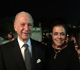 Dr. Philip and Patricia Frost at the Vizcaya Centennial Gala