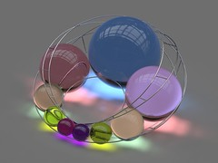 Caustic Cyclid (fdecomite) Tags: math geometry circle sphere cyclide dupin inversion rhino light diffusion