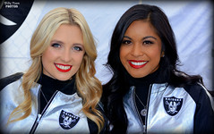 2016 Oakland Raiderettes Taylor & Sheila (billypoonphotos) Tags: 2016 oakland raiders raiderette raiderettes raider nation raidernation taylor sheila nfl football fabulous females cheerleaders cheerleading dance dancer nikon d5200 billypoon billypoonphotos silver black picture photo photographer photography pretty girls ladies women squad team people coliseum raiderville carolina panthers