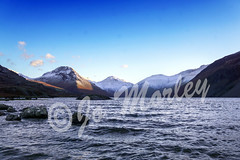 Lake District (Jo_Morley) Tags: lake district mountain sun waves snow rock blue horizon landscape outside watermark view photoshop sony scenery water earth environment sunrise