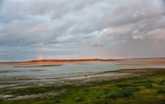 ~~ Coucher de Soleil et Arc en ciel sur l' tang Du Der~~ (Jolisa) Tags: etangduder hautemarne coucherdesoleil sunset arcenciel