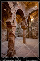 Arabic baths of Ronda (__Viledevil__) Tags: architectural monumental arabic arch archeology arches architecture bath baths building citadel culture famous historic historical history indoor landmark mediterranean old past room ruin ruins site stone stones travel wide