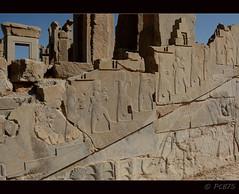 L'escala de les ofrenes (PCB75) Tags: iran prsia persa fars shiraz perspolis  laciutatpersa pars  viatge 2016 arqueologia tajteyamshid aquemnida pulwar kur kyrus dariusi alexandremagne