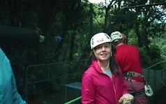 Celeste (jonesrachel920) Tags: costa rica earthwatch 35mm negative scan film monteverde celeste people nature ziplining