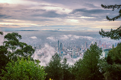 Bogot (Maurcio Becerra) Tags: bogot colombia nature sky purple nikond5500 nikon fog cloudy sabana mountains