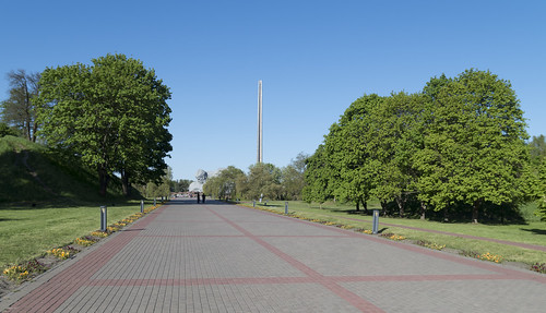 Within Brest Fortress Memorial Complex, 05.05.2014.
