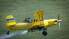Dusted (John Westrock) Tags: airplane grummanschweizerg164b cropduster farmfield rural colfax washington pacificnorthwest canoneos5dmarkiii canonef100400mmf4556lisusm n6632q