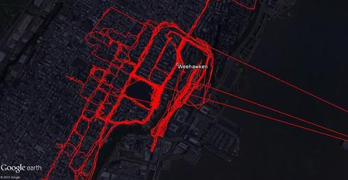 August 2015 My Tracks (Weehawken)