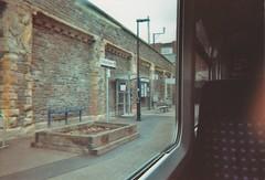 Clifton Down (Rose Claw) Tags: train film morning mood rain bristol england uk clifton alone gray platform travel