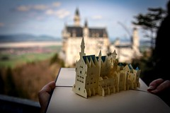 Schloss Neuschwanstein (TrekkingTracy) Tags: castle history clouds germany landscape bayern deutschland bavaria spring focus schloss schlossneuschwanstein neuschwansteincastle bayerischealpen