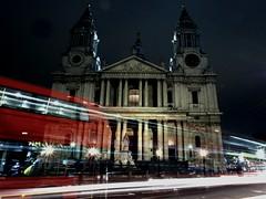 London bus (802701) Tags: longexposure nightphotography london cityscape nightshot stpauls lighttrails nightphoto stpaulscathedral cityview londonbus capitalcity londonatnight ludgatehill
