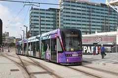 2554 (Bingley Hall) Tags: uk england london train britain transport tram rail railway transportation transit croydon tramlink stadler