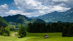 Alpen Landschaft (Jos Mecklenfeld) Tags: mountains germany landscape bayern deutschland bavaria outdoor hiking wandelen hike alpen landschaft wandern duitsland landschap oberstdorf allgu beieren allgueralpen sonynex3n sesselalpe
