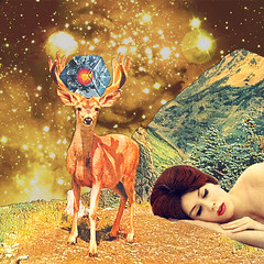 """""""Dreamystars"""" collaboration with Eugenia Loli (Mariano Peccinetti Collage Art) Tags: trip collage vintage stars 60s surrealism space acid surreal retro lsd psycho collageart dreams 70s dada surrealist meditation dope cutandpaste dmt psychedelicart vintageart collageartist eugenialoli peccinetti collagealinfinito marianopeccinetti"""