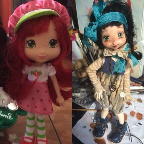 My handmade repaint dolls