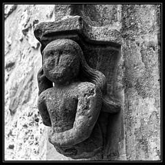 Dtail de l'glise Saint-Germain de Magny-les-Hameaux - Yvelines (DavidB1977) Tags: bw france fuji nb iledefrance glise x10 yvelines magnyleshameaux