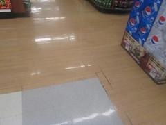 Floor Transition (Random Retail) Tags: retail store tn supermarket former kmart kingsport 2015 superkmart kmartsupercenter