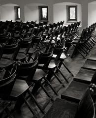 Dormitorium (Drte Krell) Tags: bw film monochrome analog hessen sw 4x5 lf rodinal schwarzweiss largeformat gf graflex lich wollensak fomapan primelens adox sheetfilm adonal optar technicalcamera grossformat klosterarnsburg