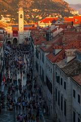 Stradun Gold - Croatia, Dubrovnik (Nomadic Vision Photography) Tags: travel summer mainstreet europe croatia unescoworldheritagesite touristattraction stradun jonreid tinareid nomadicvisioncom