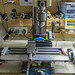 Mini Mill re-assembled complete with Stepper Motor and Controller