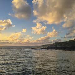 back (nosha) Tags: ocean uk water beauty square cornwall atlantic shore squareformat porthleven iphoneography instagramapp porthlevencornwallnoshabeautysunsetshore
