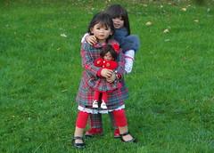 Kindra mit Setina und Leleti ... (Kindergartenkinder) Tags: dolls schloss annette kindra lembeck setina himstedt kindergartenkinder leleti