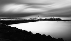 scituate lighthouse (ShanePix) Tags: longexposure lighthouse beach water clouds exposure horizon bestcapturesaoi elitegalleryaoi