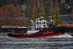 Tugboat Kootenay (drmack2) Tags: autumn tractor docks river bc harbour tug samson