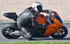 KTM RC8 (jlc pics) Tags: park nikon down ktm knee donington rc8 d3100