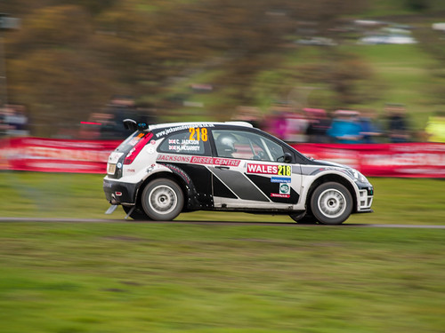 Wales Rally GB - Chirk Castle