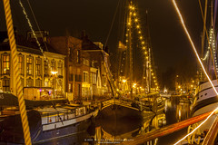 _MG_8212-HDR (Wil de Boer Photography --> Dutch Landscape and Ci) Tags: longexposure history water reflections boats boat ship tripod groningen 2015 canonef2470f28 winterwelvaart canon5dmarkii triggertrap copyrightc2015wildeboerphotography wwwfacebookcomwildeboerphotography wwwwildeboerphoto klipperjade